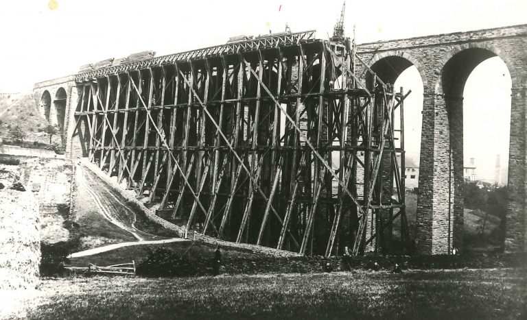 1880 Construction of Denby Dale Viaduct Completed