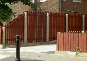 Concrete Posts for timber fencing